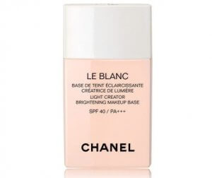 10. Chanel Le Blanc Light Creator Brightening Makeup Base SPF40/PA++ (30 ml)