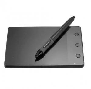 9.Huion -USB Writing Drawing Graphics Board Tablet 4x2.3 inch + Digital Pen