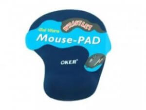 6. OKER Mouse Pad with Gel Wrist Support