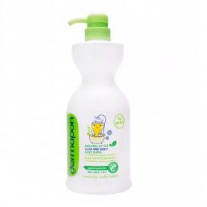 8. Dermapon - Organic 5.5 Hair and Body Baby bath (480 ml)