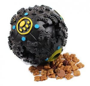 5. No Brand - Get Along Petcircle Dog's trumpet sound leakage food ball, Dog/Cat Toy