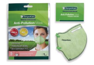 7. RespoKare Anti-Pollution Masks for Adults