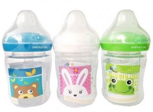 3. Nuebabe Feeding Bottle (3 Bottles)