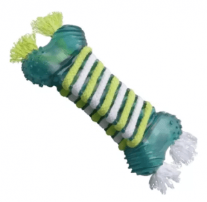 7.Dogit Gumi Dog Toy Large Floss and Clean Gumi Dental Bone For Medium-Large Breed Dogs Size 22x9 cm.