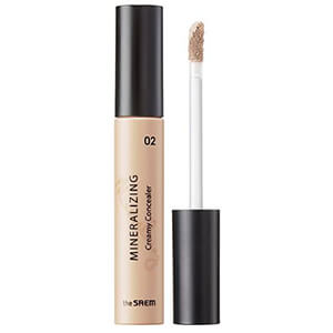 6. The Saem Mineralizing Creamy Concealer