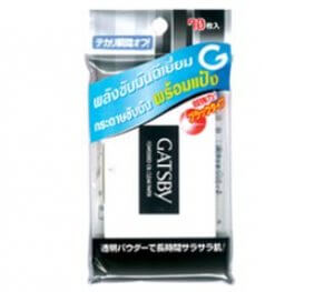 9.Gatsby Powdered Oil Clear Paper