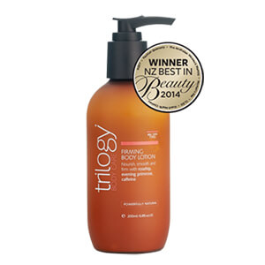 10. Trilogy Firming Body Lotion